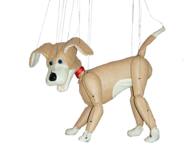 Marionette Dog Puppet
