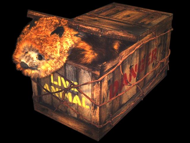 Remote Control Animal Crate